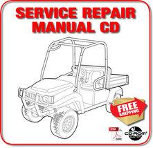 Bobcat 2200 Utility Vehicle Service Repair Manual 235311001D-235211001G CD - $19.98