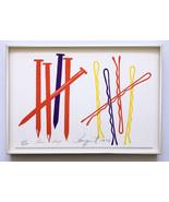 James Rosenquist 1973 Hand Signed Framed Screenprint Ltd Ed Pristine JKL... - $4,455.00