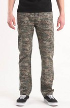 BULLHEAD GRAVELS SLIM DIGI CAMO GREEN PANTS JEANS MENS GUYS NEW $55 - $42.99