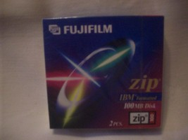 MIP Fuji Film CD Zip Files 100MB New Unused Sealed Unopened Package of 2 - $15.00