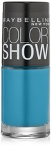 Maybelline New York Color Show Nail Lacquer, Shocking Seas, 0.23 Fluid Oun.. - $6.92