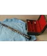 vtg ROYAL made in Germany CLARINET Grenadilla wood rare find B flat musi... - $199.00