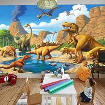 "3D Wallpaper ""Cartoon Dinosaurs"" - $35.00+"