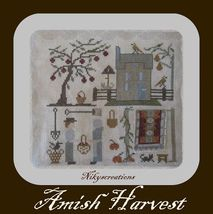 Amish Harvest cross stitch chart Niky's Creations - $12.60
