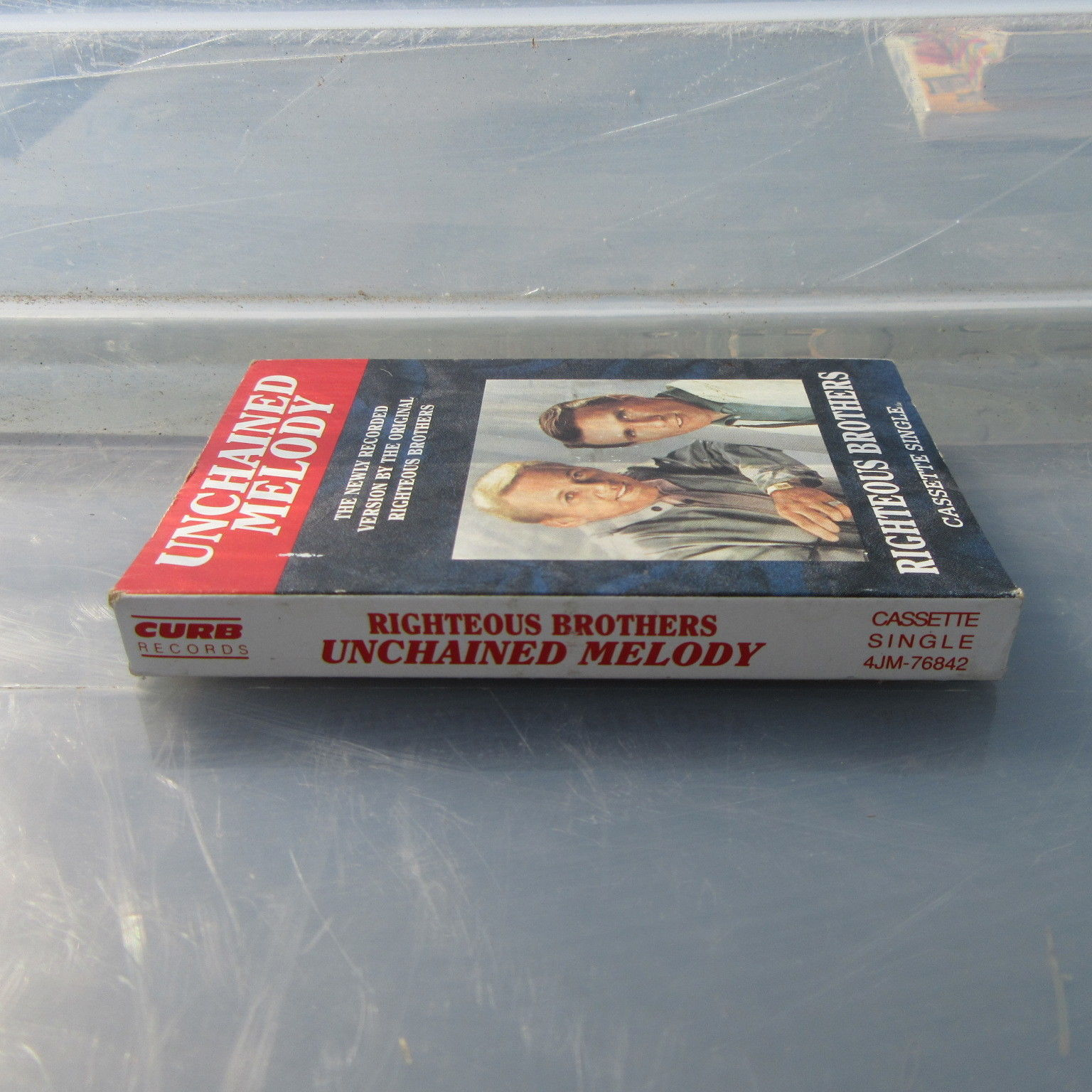 Unchained Melody by The Righteous Brother Cassette Single 1990 Curb !