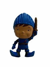 """Mike The Knight Toy Figure Medieval 5"""" Cake Topper Fisher Price - $9.89"""