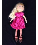 "Karito Kids Play A Role Girl Goes To School 9"" Plush Cloth Rag Soft Doll... - $7.61"