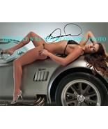 DANICA PATRICK SIGNED AUTOGRAPHED 8x10 RP PHOTO NASCAR SEXY - $14.39
