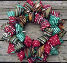 Aztec Themed Handmade Southwestern Fabric Wreath - $38.50
