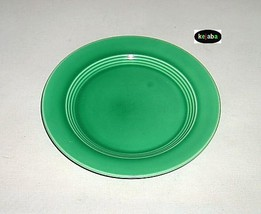 Harlequin Light Green Plate 6 3/4 in. Homer Laughlin Vintage - $4.95