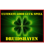 ULTIMATE GOOD LUCK SPELL for POWERFUL good luck in all areas of your lif... - $39.97