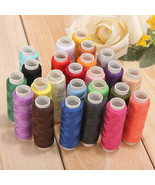 24 Color Cotton Sewing Thread Spools Sewing Machine Accessories - $13.33