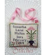Samantha's Pillow tooth fairy pillow cross stitch chart Cherished Stitches - $8.10