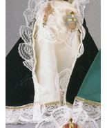 Infant Jesus of Prague: 9 inch Statue with Blue Satin Gowned - $99.95