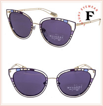BVLGARI SERPENTI 6104 Temptalicious BV6104 Gold Violet Purple Metal Sung... - $252.45