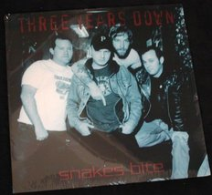Three Years Down - Snakes Bite 2001 LP Sealed Garage Punk - $8.00