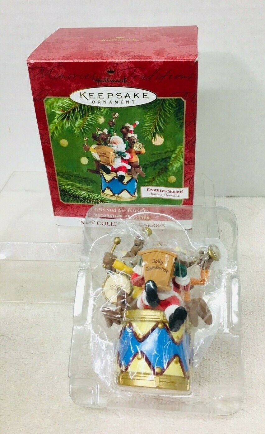 Primary image for 2001 Kris and the Kringles #1 Magic Hallmark Christmas Tree Ornament MIB Price T