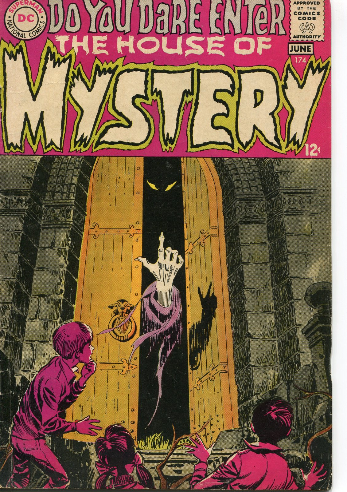 House Of Mystery #174 Back Issue Comic Book (Jun 1968) Very Good