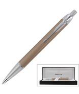 Parker IM Dust Chrome Trim Retractable Ballpoint Pen - $10.99