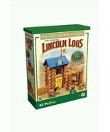 Child Play Wooden Learn Build School Lincoln Log Horseshoe Hill Station ... - $26.93