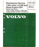 Volvo D24 Diesel Engine Maintenance Service Man... - $14.93