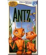 VHS - Antz (1998) *Sharon Stone / Gene Hackman / Dreamwork Animations*  - $1.99