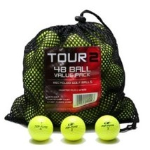 Color Various Brands Recycled Golf Balls in Mesh Bag Yellow 48 Pack - $52.06