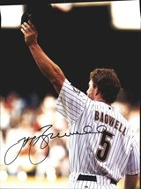 Jeff Bagwell authentic signed baseball 11X14 photo W/Cert Autographed A0053 - $109.95