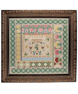 Antonia de Cruzba reproduction sampler cross stitch chart Threads Of Mem... - $18.00
