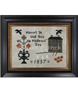 Haunted Hill halloween cross stitch chart Threads Of Memory   - $8.10