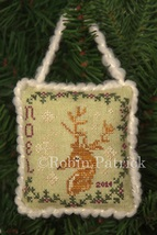 Noel 2014 christmas ornament cross stitch chart Threads Of Memory   - $6.30