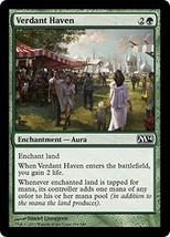 Magic The Gathering-Magic 2014-Verdant Haven - $0.15