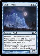 Magic The Gathering-Magic 2014-Wall of Frost FOIL - $0.89