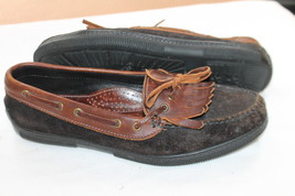 COLE HAAN COUNTRY SIZE 8.5 M BROWN DRIVING LOAFERS SHOES VINTAGE - $21.78