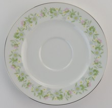 Johann Haviland China Forever Spring Footed Cup Saucer Floral Flower Pla... - $3.99