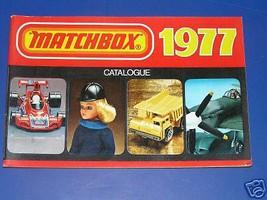 MATCHBOX 1977 CATALOG - $4.00