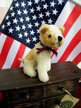 "Boyds Bears ""Hercules Von Mutt"" 6"" Wool Dog-  #5014-01 -NWT-1993Retired - $49.99"