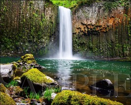 Waterfall Photograph 8X10 New Fine Art Color Print Picture Photo Nature ... - $7.66