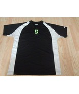 Youth Michigan State Spartans M Athletic T-Shirt Tee (Black) Worth - $9.49