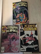 Conan The King 19 20 21 Marvel Comic Book Lot 1983-84 FN+ Condition - $5.45