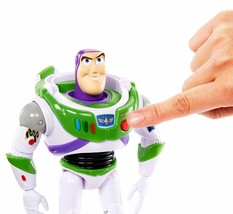"Disney Pixar Toy Story 4 True Talkers Talking BUZZ LIGHTYEAR Figure 7"" BRAND NEW image 2"