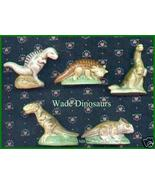 Wade Porcelain Dinosaurs Complete Set of 5 Dino... - $75.00
