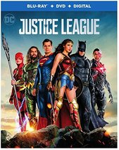 Justice League [Blu-ray+DVD, 2018]