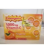 Emergen-C 1000 MG Vitamin C Tangerine Dietary Supplement - 30 Count brand new - $16.83