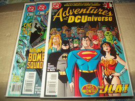 ADVENTURES IN THE DC UNIVERSE #1, 2, 3,  - $6.00