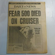 Daily News May 4 1982 500 Died on Cruiser Window Washer Falls to his Dea... - $39.99