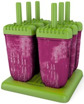 Popsicle Molds Ice Pop Kids Snack Treat Maker Tupperware Quality 6 Pieces - $32.79 CAD