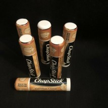 6 Chapstick Limited Edition Vanilla Latte Lip Balm New .15 Oz Ea Paraben... - $13.71