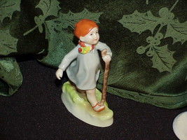 Royal Worcester Fine Bone China Figurine Thursday's Child Has Far To Go ... - $34.64