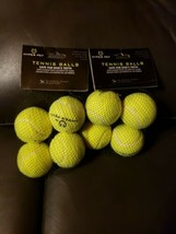 TENNIS BALLS - 2 Packs Of 4 Balls - by Hyper Pet - GREEN 8 Total! - $14.84